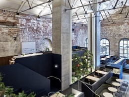 Polytec's Black Valchromat panels reinforce intimate vibe at popular Melbourne restaurant