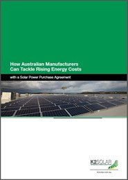 Tackling rising energy costs with a Solar Power Purchase Agreement