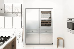 How to fit a fridge into a new kitchen design for a seamless finish