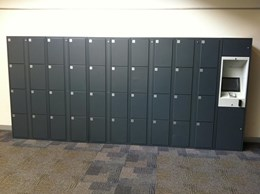High Tech Student Locker Systems for Universities, Tafe and Schools