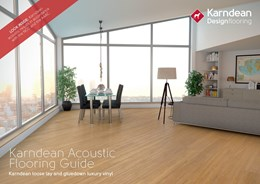 Optimising noise levels with luxury vinyl flooring