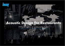 Acoustic Design for Restaurants – Why it Matters