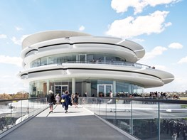 The stunning curvilinear structure inspired by Flemington Racecourse