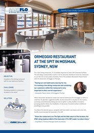 Ormeggio restaurant at the spit in Mosman, Sydney, NSW