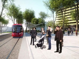 Second stage of Parramatta Light Rail to end at Sydney Olympic Park