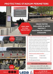 Protecting stadium precincts around Australia