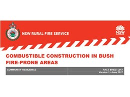BAL-FZ policy changes by NSW RFS for building in bushfire prone areas