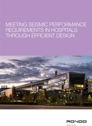Meeting seismic performance requirements in hospitals through efficient design
