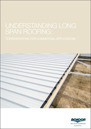 Understanding long-span roofing: Considerations for commercial applications