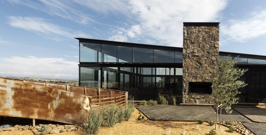 Between a wool store and a shearing shed: TKD's glass box restaurant