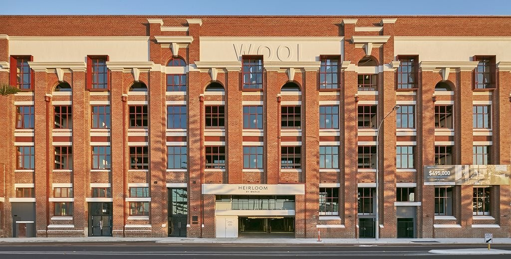 Apartments in wool's clothing: high-density living inserted into iconic WA wool stores