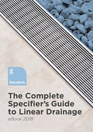 The complete specifier's guide to linear drainage - eBook
