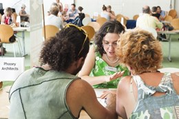 Sustainability experts assemble for speed dating program