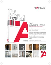 The Complete Häfele - Architectural Hardware