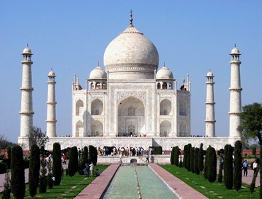 Designed by Ustad Ahmad Lahauri, the Taj Mahal is believed to have been completed in its entirety in 1653 and cost 32 million Indian rupees, which in 2015 would be valued at around 52.8 billion Indian rupees ($827 million US).