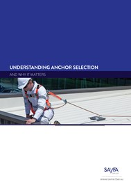 Ensuring safe, compliant worksites through effective anchor selection