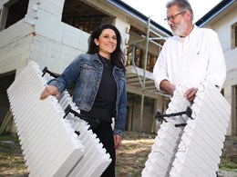 Lego-inspired building product saves on building and electricity costs