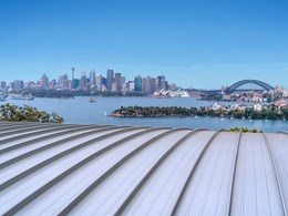Kingspan Insulated Panels acoustic roofing system installed at Taronga Zoo