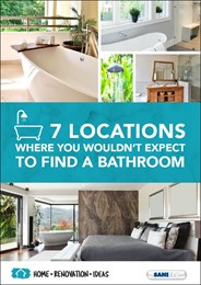 Seven locations where you wouldn't expect to find a bathroom