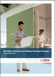 Hot Water Systems for Medium Density Housing – A Specifiers Guide