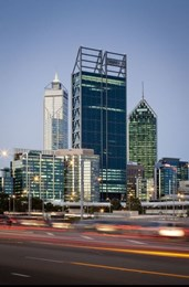 Perth architecture 'incredibly boring': heritage director hits out at CBD skyscrapers
