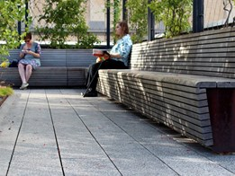People-friendly furniture in public places matters more than ever in today's city
