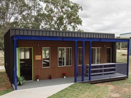 Australia's first off-grid renewable classroom in Queensland