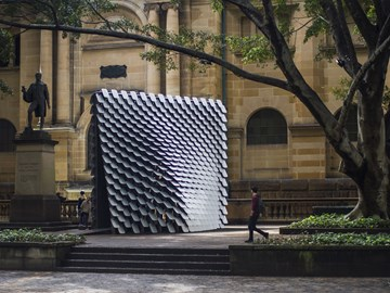 The 'interactive sound pavilion' translating paintings into music
