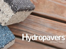 Employing WSUD and tackling the urban heat island: Premier Hydropavers