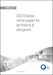 LED display for architects & designers