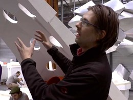 UTS invites formwork robotics expert and architect Jelle Feringa to share his knowledge