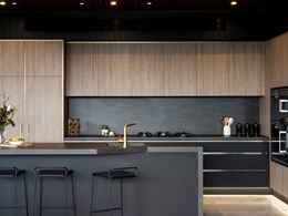 It's back to black for kitchen design