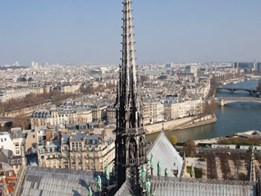 France announces competition to rebuild Notre-Dame spire