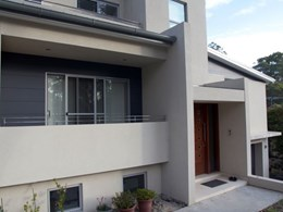 Case study: Insulating Concrete Forms chosen for home on Sydney's leafy North Shore