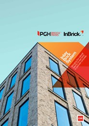 PGH InBrick™ combines beauty of real brick with performance of precast concrete panels