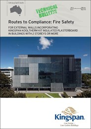 Route to compliance: Fire safety