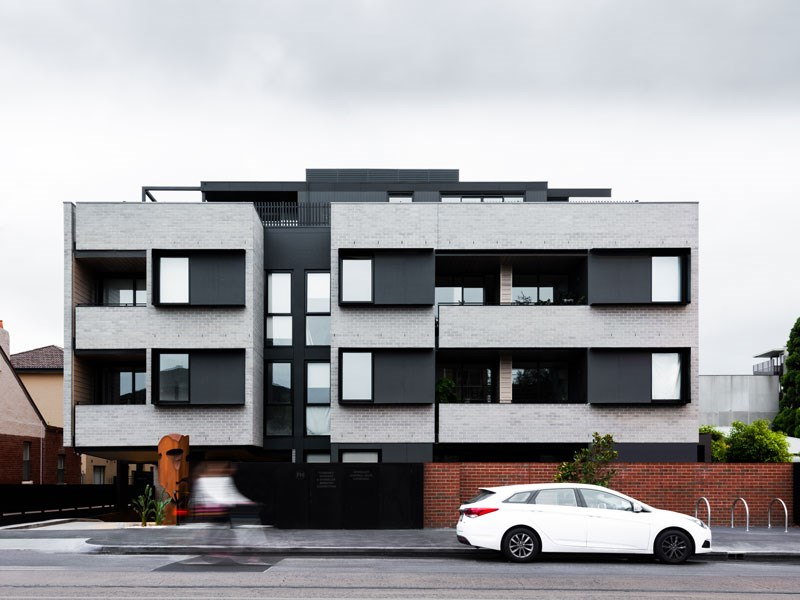 Art defines architecture in St Kilda's latest development