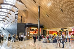 Architectural marvel becomes reality for shopping mall