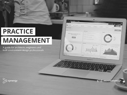 Practice management — a guide for architects and built environment designers.