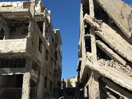 How Syrian architects can start to rebuild – even in the devastation of war