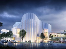Construction underway on Western Sydney Performing Arts Centre