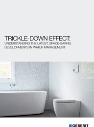 Trickle-down effect: Understanding the latest, space-saving developments in water management