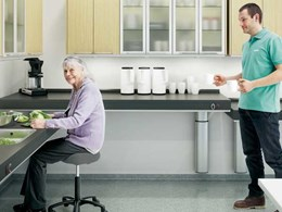 Enware releases Indivo height adjustable kitchen lifts for people with mobility or disability issues
