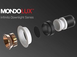 Introducing Infinito series of modular architectural downlights