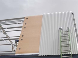Kingspan's 3-in-1 insulation, thermal break and vapour barrier solution for steel framed buildings
