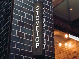 Brick dominates in Stovetop Carlton's new premises