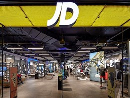 Aglo's LED products light up JD Sports' first Australian store
