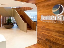 Woods Bagot-designed office fitout features Kennedy's Tasmanian Blackwood