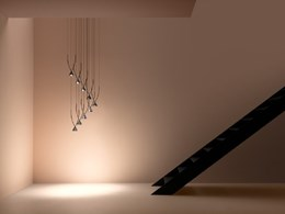 Yonoh-designed Jewel collection of LED pendants