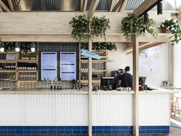 Technē Architecture-designed Jimmy Grants restaurant inspired by Australian back shed